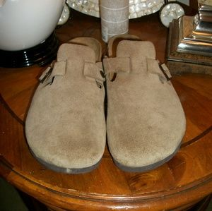 Berkinstock Suede  Betula Shoes Hard to Find Sz